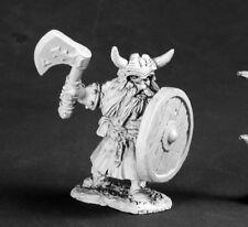Gerrin Dwarf Hero Reaper Miniatures Dark Heaven Legends Fighter Paladin Melee