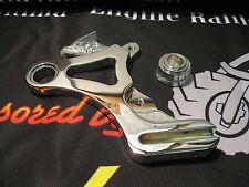 Ultima Polished Billet Rear Caliper Hanger for Harley Softail 1987-1999