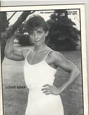 Women's Physique Publication Female Bodybuilding Debbie Sider/ Bergman 6-84