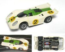 1981 Aurora AFX G+ G-PLUS Speed Shifter Cats Eye Slot Car LIT Porsche 917 IMSA
