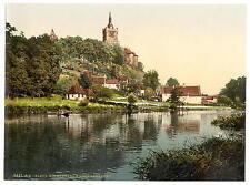 Kirmesdahl y schwanenburg Cleves Westfalia A4 Foto Impresión
