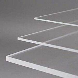 Bespoke Perspex Clear Acrylic Sheet Panel ANY SIZE