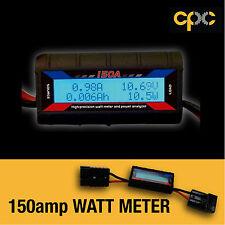 150 Amp Watt Meter Digital Volt Solar Caravan 4x4 Camping 12V Ammeter Voltmeter