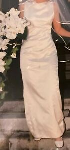 Vintage Vera Wang Couture Silk Wedding Dress