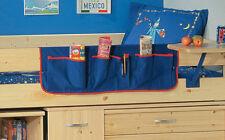 Childrens Blue Bedside Pocket Tidy - Free Delivery