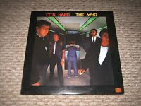 """Vintage 1982 The WHO """"It's Hard"""" LP - Warner Bros. Records (1-23731) NM"""