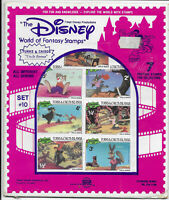 Internationale Briefmarken Disney Set #10 Uncle Remus 1981 originalverpackt!