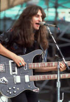Geddy Lee Of The Band Rush Performs At Comiskey Park 1979 OLD MUSIC PHOTO 1