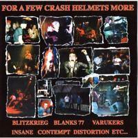 FOR A FEW CRASH HELMETS MORE various (CD, compilation) punk, oi, hardcore rock,