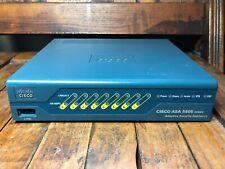 Cisco ASA 5505 Series Adaptive Security Appliance Firewall - No Power Cord