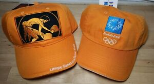 LOT Of 2 Olympics Athens 2004 Official Hats Athens & Weightlifting Adjustable T2