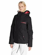 WOMANS ROXY JETTY SOLID SKI SNOWBOARD JACKET EXTRA SMALL / R12