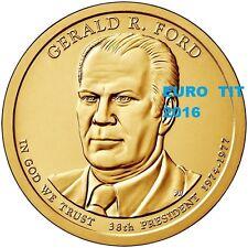 PRESIDENT  2016   1  DOLLAR   DES   USA   GERALD  FORD   2016     disponible