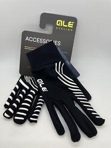 ALE Sottoguanto Spiral Fleece Underglove Cycling Full-Finger Liner Gloves LARGE