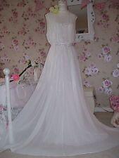Coast NEW  18 vintage inspired stunning ivory embellished  bridal prom dress