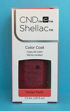 CND Shellac TARTAN PUNK Power Polish Gel Color~ CONTRADICTIONS Coll~ classic red