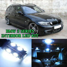 BMW 3 Series E91 ESTATE INTERIOR UPGRADE KIT COOL WHITE LED Lights ERROR FREE