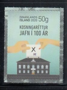 ICELAND Equal Voting Rights MNH stamp