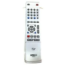 LiteOn VCRPlus Remote Control RM-91 Gray Silver Clean Tested Factory Original