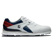 NEW FootJoy Mens Ryder Cup Pro SL Golf Shoes Red/White/Blue - Choose Your Size!