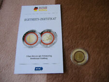 2-Euro-Münze Berlin mit rotem Polymer-Ring Hamburg 2008