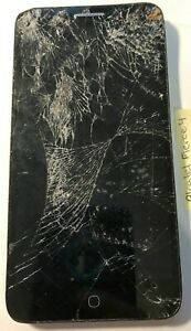 [BROKEN] ALCATEL Fierce 4 16GB Black (MetroPCS) Parts Repair Cracked NO POWER