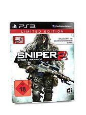 FSK18 • PS3 Spiel • Sniper Ghost Warrior 2 • Limited edition • Guter Zustand