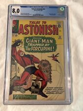Tales to Astonish  # 53 CGC 8.0 wasp antman