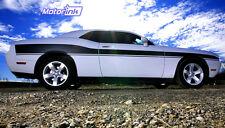 2008-2014  Dodge Challenger Mid Body Side Stripes Kit Decal Hemi Mopar 3M vinyl