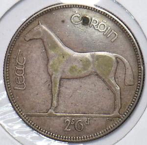 Ireland 1933 2 Shilling 6 Pence Horse animal 295826 combine shipping