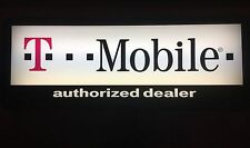 T-MOBILE Cell Phone Authorized Dealer Double Sided LIGHT UP Store SIGN *BUY NOW
