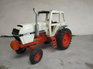 """(1979) J.I.Case Model 2390 Toy Tractor """"Silver Muffler"""" 1/16 Scale"""