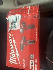 Milwaukee 2598-22 M12 Fuel Hammer Drill and Hex Impact Driver