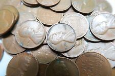 (100) 1930-1939 Wheat Penny Roll // F-VF // Thirties // P-D-S // 2 Rolls + BONUS