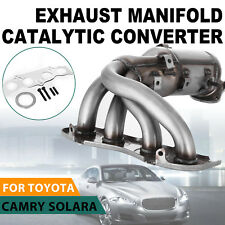 Exhaust Manifold Catalytic Converter For 2002-2006 Toyota Avalon Camry 2.4L