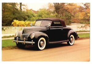 Ford 1939 New Convertible Coupe Photograph Henry Ford Museum Dearborn, Michigan
