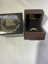 Noble Collection Yellow Gold Lord of the Rings The One Ring Official product