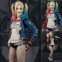 3 Face 3 Head SHFiguarts SHF DC Suicide Squad Harley Quinn Action Figures Toys @