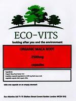 Organic Maca Root 2500mg High Strength 60 Capsules