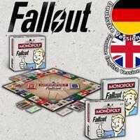 Monopoly Fallout Collector's Edition Spiel Brettspiel Board Game Deutsch English