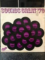 Sounds Great '70 Avenue Records UK LP with Elton John & David Byron (Uriah Heep)