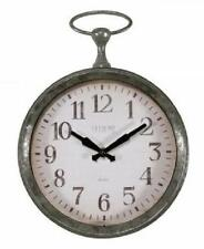 La Crosse Pocket Watch Style Frame 9 Inch Quartz Wall Clock Battery Operated