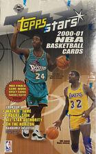 2000-01 TOPPS STARS BASKETBALL NBA Hobby Box  Magic Johnson Kobe Jordan ? RARE
