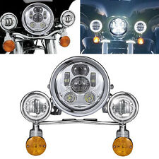Motorcycle headlight assemblies for ducati s2 ebay led headlight passing light fit yamaha road star silverado classic midnight xv aloadofball Gallery