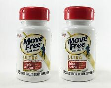 Schiff Move Free Joint Health Ultra Triple Action, 75 Coated Tablets x 2