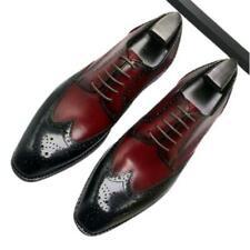 Bridegroom Men Dress Formal Real Leather Shoes Wedding Oxfords Carved Business L