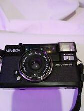 Minolta Hi-Matic AF2 35mm Film Camera, 38mm f/2.8 Lens Japan