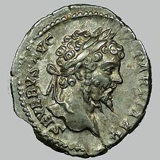 Septimius Severus / Denarius / RIC 167(a)