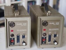Pair of Quad 50E Amplifiers, serviced with all cables.