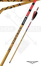New Black Eagle Vintage Crested Feathers Red/White/Black .005 350 Spine 1/2 dz.